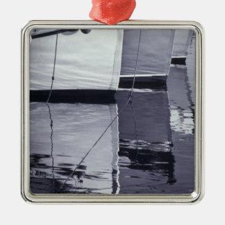 NA, Canada, Nova Scotia, Digby. Fishing boats; Christmas Ornament