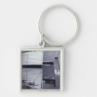 NA, Canada, Nova Scotia, Digby. Fishing boats; Key Ring