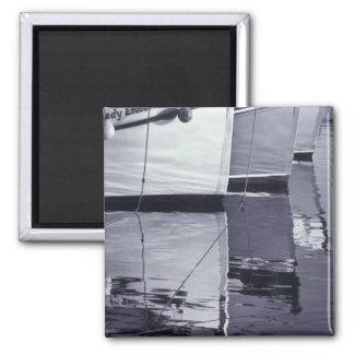 NA, Canada, Nova Scotia, Digby. Fishing boats; Magnet