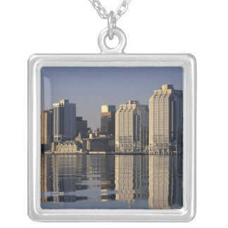 NA, Canada, Nova Scotia, Halifax. Halifax Silver Plated Necklace