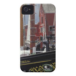 NA, Canada, Nova Scotia, Lunenburg. Atlantic iPhone 4 Cover