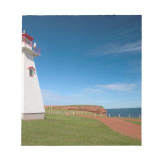 NA, Canada, Prince Edward Island. Cape Tryon Notepad