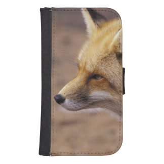 NA, Canada. Red Fox Samsung S4 Wallet Case