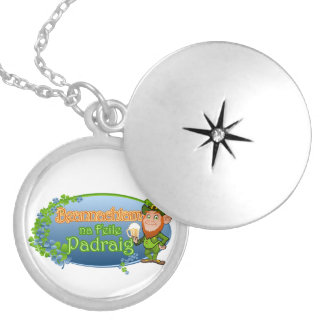 na Feile Padraig (Ver 2) Silver Plated Necklace