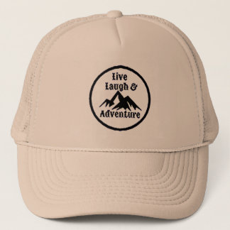 NA- Live Laugh & Adventure Trucker Hat