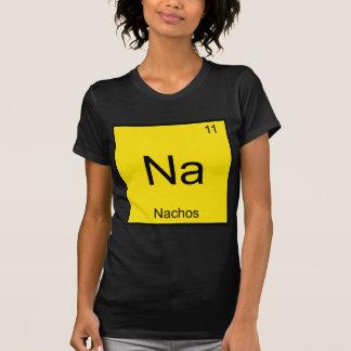Na - Nachos Funny Chemistry Element Symbol T-Shirt