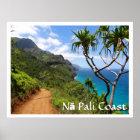 Nā Pali Coast State Park, Kauai Poster
