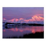 NA, USA, Alaska, Denali NP, Mt. McKinley, Postcard