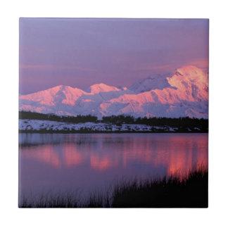 NA, USA, Alaska, Denali NP, Mt. McKinley Tile