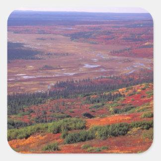 NA, USA, Alaska, Denali NP, View of McKinley Sticker