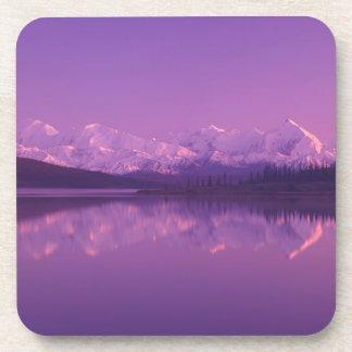 NA, USA, Alaska, Denali NP, Wonder Lake, Evening Coaster
