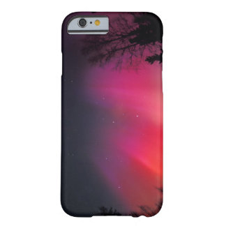 NA, USA, Alaska, Fairbanks, Curtains of pink and Barely There iPhone 6 Case