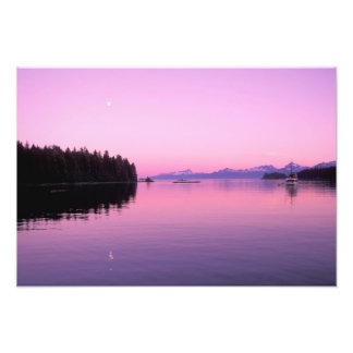 NA, USA, Alaska, Southeast Alaska, Inside 3 Photo Print