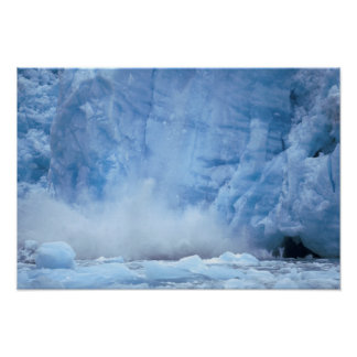 NA, USA, Alaska, Southeast Alaska, Tracy Arm, Poster