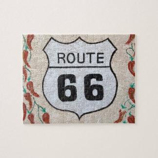 NA, USA, Arizona, Holbrook Route 66 street sign Puzzle