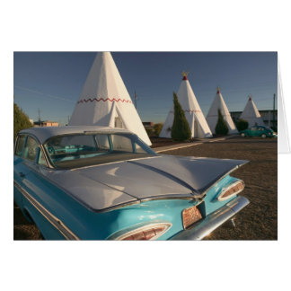 NA, USA, Arizona, Holbrook Route 66, Wigwam 2 Card