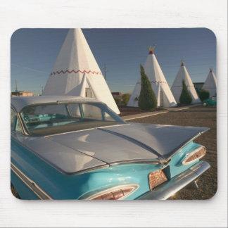 NA, USA, Arizona, Holbrook Route 66, Wigwam 2 Mouse Mat