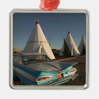 NA, USA, Arizona, Holbrook Route 66, Wigwam Christmas Ornament