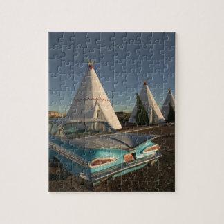 NA, USA, Arizona, Holbrook Route 66, Wigwam Jigsaw Puzzle