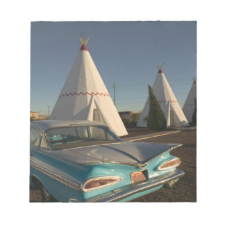 NA, USA, Arizona, Holbrook Route 66, Wigwam Notepad