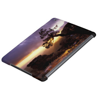 NA, USA, Arizona, Tucson, Sunset and lone Case For iPad Air