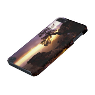 NA, USA, Arizona, Tucson, Sunset and lone iPod Touch (5th Generation) Covers