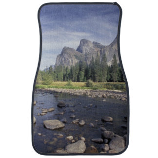 NA, USA, California, Yosemite NP, Valley view Car Mat