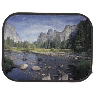NA, USA, California, Yosemite NP, Valley view Car Mat