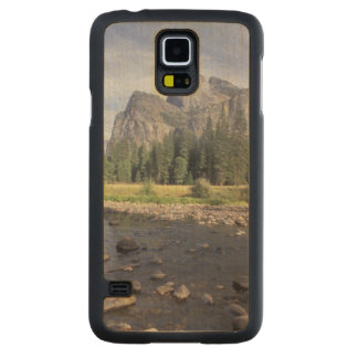 NA, USA, California, Yosemite NP, Valley view Carved Maple Galaxy S5 Case