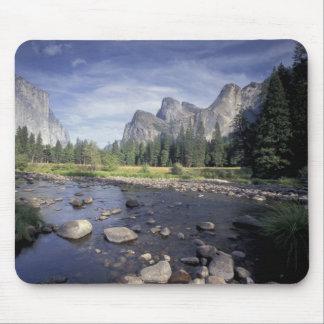 NA, USA, California, Yosemite NP, Valley view Mouse Pad