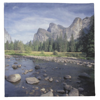 NA, USA, California, Yosemite NP, Valley view Napkin