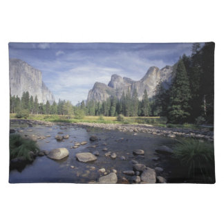 NA, USA, California, Yosemite NP, Valley view Placemat