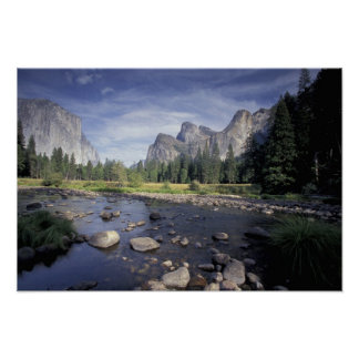 NA, USA, California, Yosemite NP, Valley view Poster