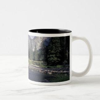 NA, USA, California, Yosemite NP, Valley view Two-Tone Coffee Mug