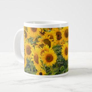 Na, USA, Colorado, Sunflowers Large Coffee Mug
