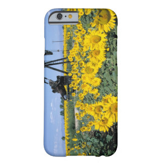 Na, USA, Colorado, Sunflowers, Oil Derrick Barely There iPhone 6 Case