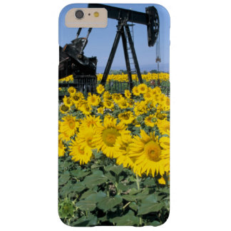 Na, USA, Colorado, Sunflowers, Oil Derrick Barely There iPhone 6 Plus Case