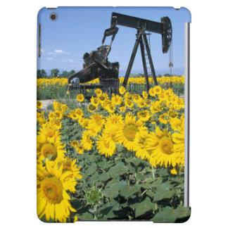 Na, USA, Colorado, Sunflowers, Oil Derrick Case For iPad Air