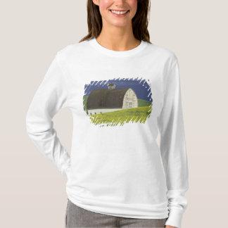 NA, USA, Idaho, south of Genesse, Canola field T-Shirt