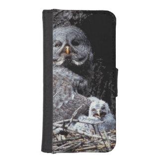 NA, USA, Idaho, Teton Valley. Great gray owl iPhone SE/5/5s Wallet Case