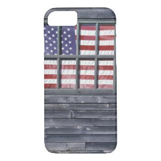 NA, USA, Maine, Georgetown Island. Flag of the iPhone 8/7 Case
