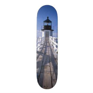NA, USA, Maine, Port Clyde.  Marshall Point 2 Skateboards