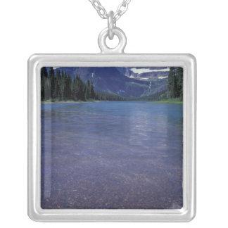 NA, USA, Montana, Glacier National PArk. Silver Plated Necklace