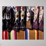 NA, USA, New Mexico, Santa Fe. Cowboy boots