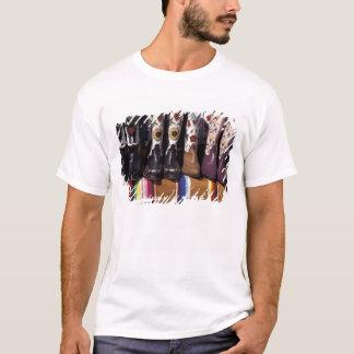 NA, USA, New Mexico, Santa Fe. Cowboy boots T-Shirt