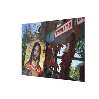 NA, USA, New Mexico, Santa Fe. Gallery Wrap Canvas