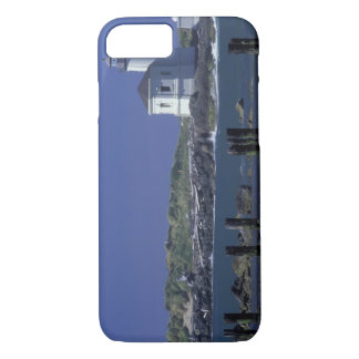 NA, USA, Oregon, Bandon, Coquille Lighthouse iPhone 8/7 Case