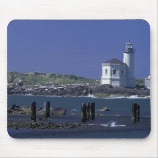 NA USA Oregon Bandon Coquille Lighthouse Mousepads