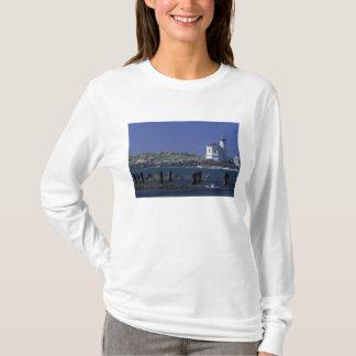 NA, USA, Oregon, Bandon, Coquille Lighthouse T-Shirt