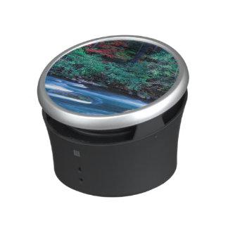 NA, USA, Oregon, Fall Foliage on North Umpquah Bluetooth Speaker